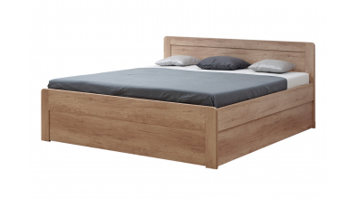 Manželská posteľ MARIKA Family, 180x200, dub cink