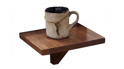 Nočný stolík závesný, dub cink