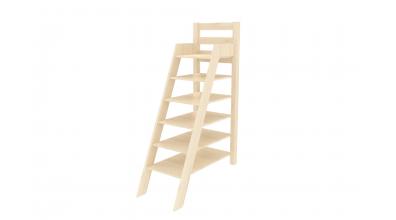 Rebrík policový vysoký smrek