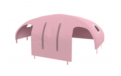 Domeček stan pro zábranu A B, PASTEL růžový