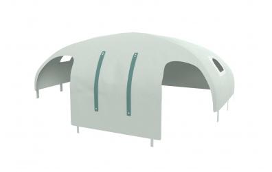 Domček stan pre zábranu A B pastel mentolový
