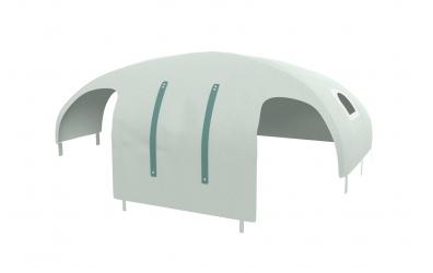 Domeček stan pro dělené čelo a zábranu A B levý, PASTEL mint