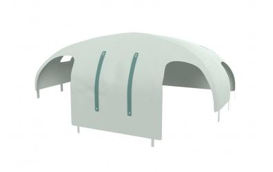 Domeček stan pro dělené čelo a zábranu A B pravý, PASTEL mint
