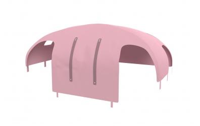 Domeček stan pro dělené čelo a zábranu A B pravý, PASTEL růžový