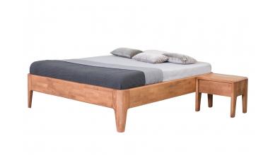 Manželská posteľ FANTAZIA 180cm dub cink