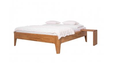 Manželská posteľ FANTAZIE 180 cm, dub cink
