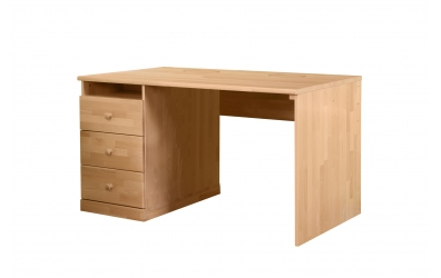 Stôl KLASIK ľavý buk cink