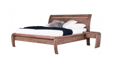 Manželská posteľ GRÁCIE 180, buk cink