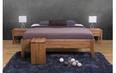 Manželská posteľ FANTAZIE 180 cm, buk cink