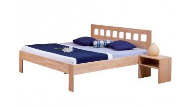 Manželská posteľ VENEZIA 180cm buk cink