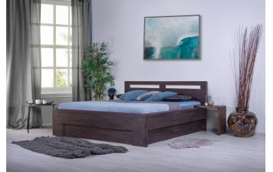 Manželská posteľ MESSINA 180 cm, buk cink