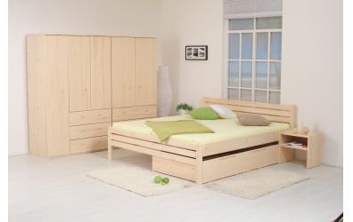 Manželská posteľ Karla Senior 180 cm smrek