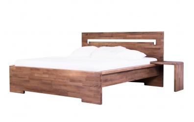 Manželská posteľ MODENA buk cink