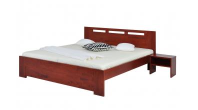 Manželská posteľ VALENCIA 180 cm buk cink