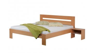 Manželská posteľ METAXA 180 cm buk cink