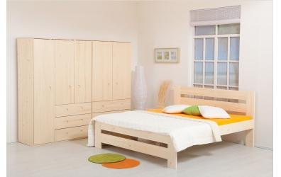 Manželská posteľ METAXA Senior 180 cm smrek