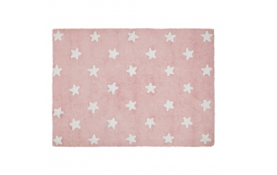 Koberec LORENA CANALS hvězdičky, růžový