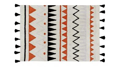 Koberec LORENA CANALS, aztécké vzory, přírodní L