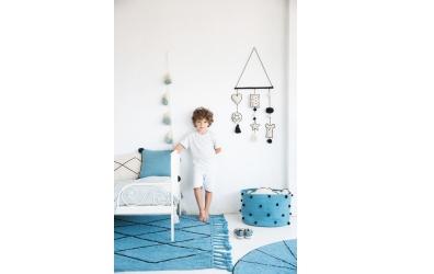 Dekorace na zeď LORENA CANALS pro děti, černo-bílá