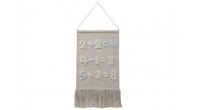 Dekorácia na stenu LORENA CANALS čísla , béžová