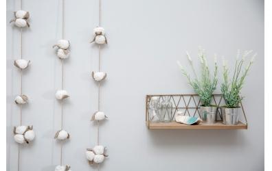 Girlanda LORENA CANALS Cotton Bolls
