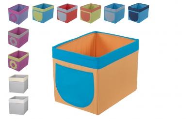 Textilný box do regálu (viac variant)
