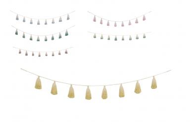 Girlanda LORENA CANALS Pom Pom Tie-Dye (více variant)
